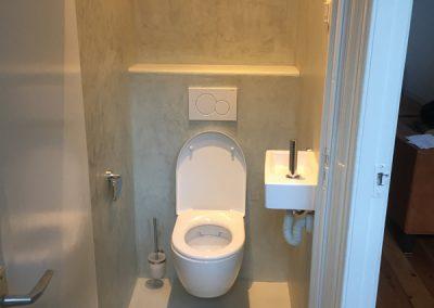 Toiletrenovatie met Beton Cire
