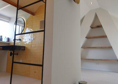 Zolder renovatie: Badkamer & Slaapkamer